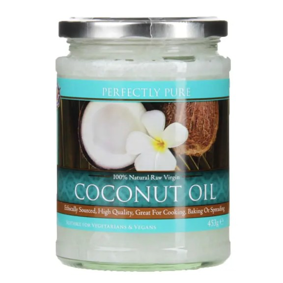 Perfectly Pure Extra Virgin Pure Coconut Oil 453g £7.49 >