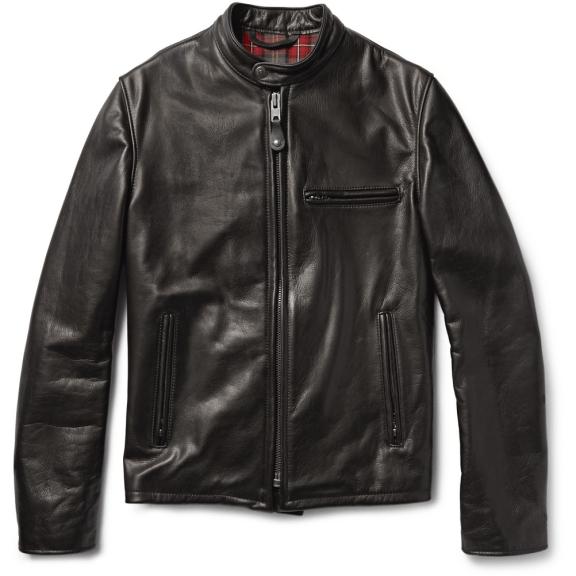 Schott Perfecto 530 Slim-Fit Leather Café Racer Jacket £950 >