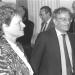 Gro H. Brundtland y Carlos Luis Álvarez