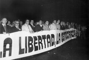 La transición democrática española