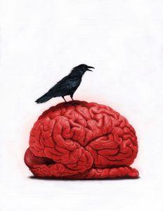 Brain Sick I by Robert Carter
