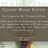Cherry Wood Coffin