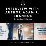 Interview with Author Adam R. Shannon