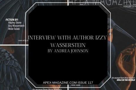 Interview with Author Izzy Wasserstein