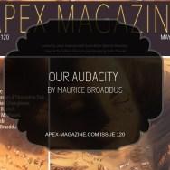 Our Audacity