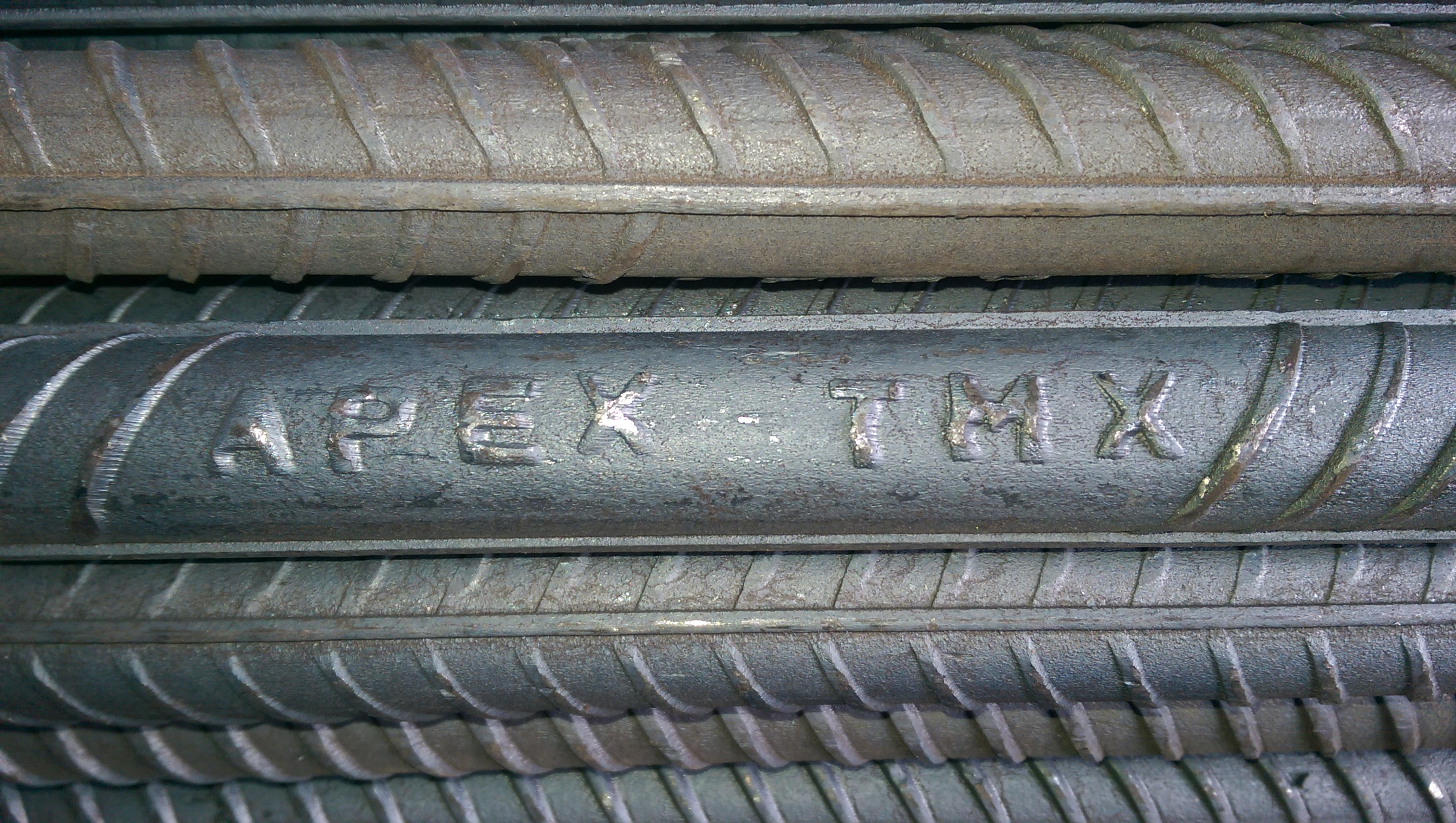 Apex TMX Deformed Steel Bars