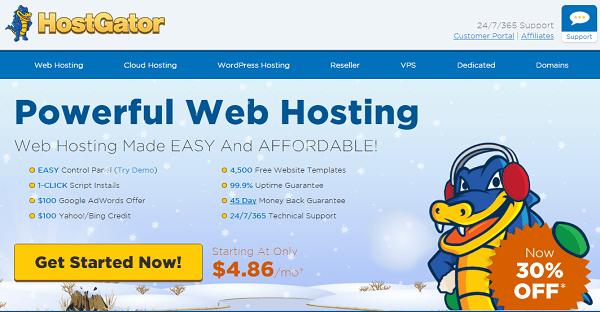 hostgator-optimized-hosting-for-wordpress-reviews