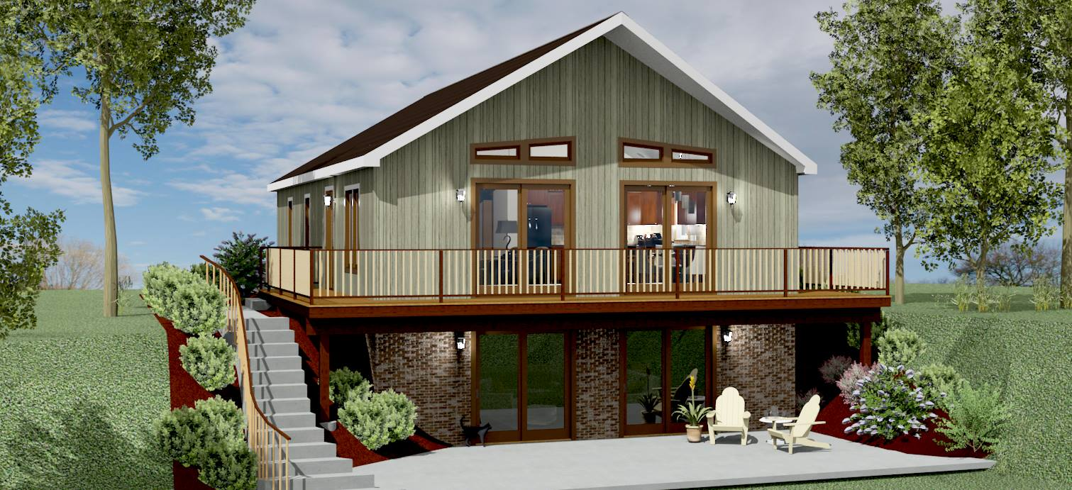 Chalet House Plan 2