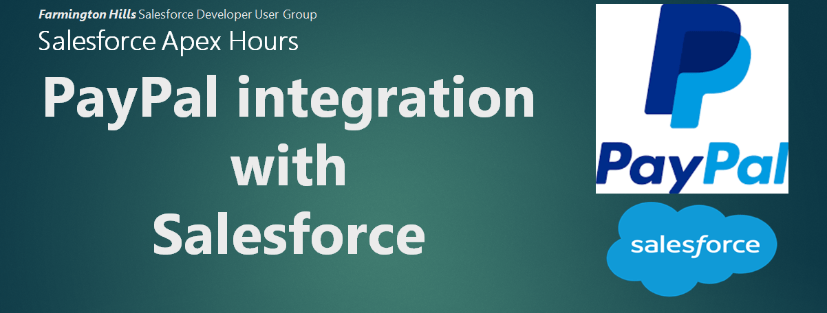 Paypal integration with salesforce