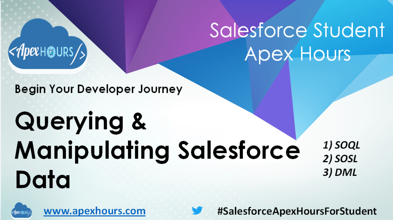 Querying & Manipulating Salesforce Data