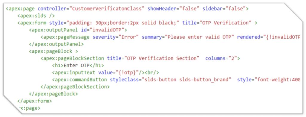Visualforce Page Sample