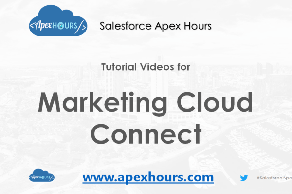 Marketing Cloud Connect