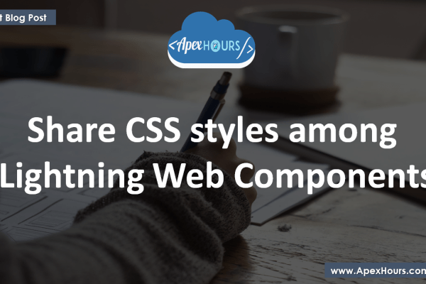 Share CSS in Lightning Web Components