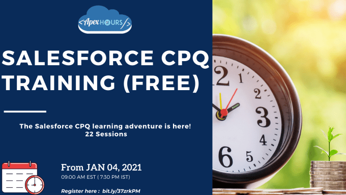 Salesforce CPQ Training Free.