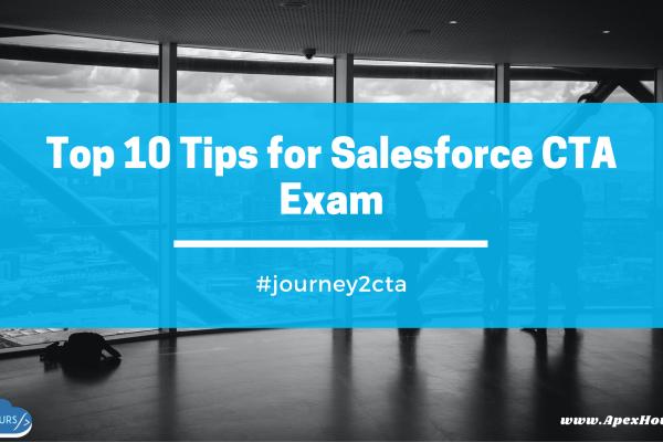 Salesforce Technical Architect CTA Tips