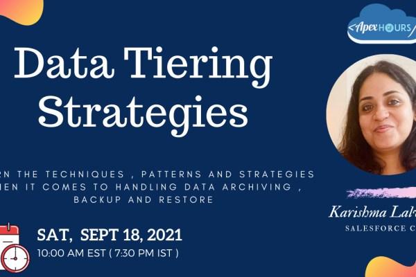 Data Tiering Strategies