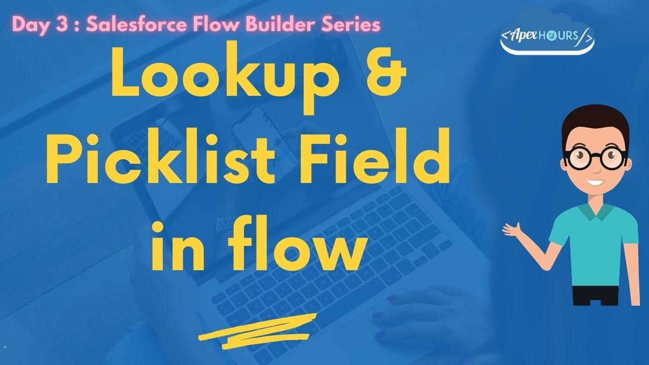 Creating Lookup Field in Flow