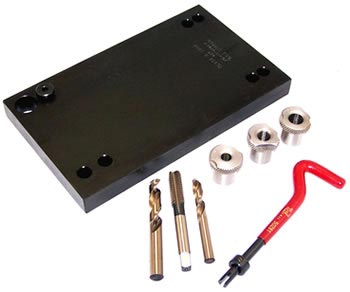 m10130 caterpillar 3406 3408 series broken exhaust manifold stud removal kit