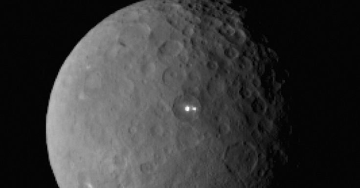 Dwarf Planet Ceres' Two Bright Lights