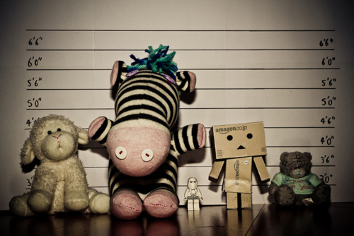 toys against the wall