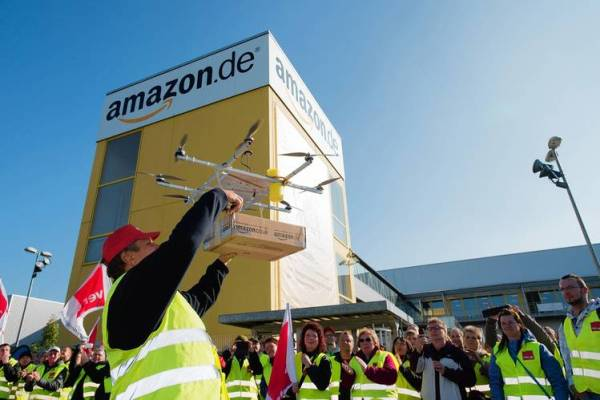 """""""Amazon Wants Drones-Only Airways to Deliver Products"""""""