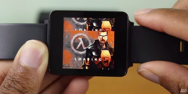 """half life android smart watch"""