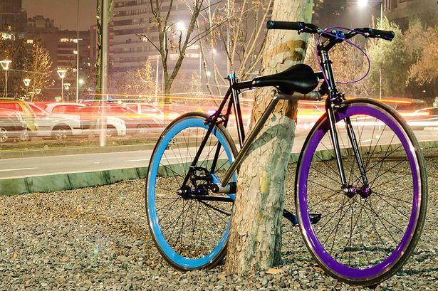"""bike yerka world frst unstealable bike"""