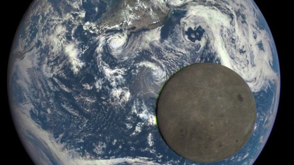 """""""far side of the moon pictured by nasa"""""""
