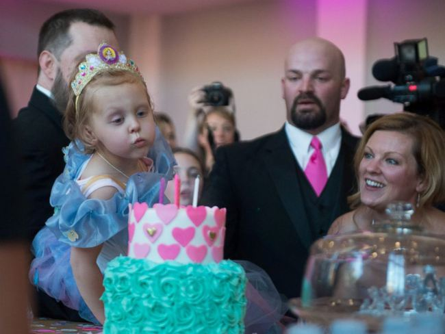 Girl with Terminal Cancer Gets Birthday Party