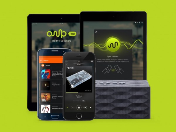 """""""ampme brings devices together for music"""""""