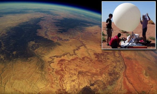 """""""students recover earth footage after two years"""""""