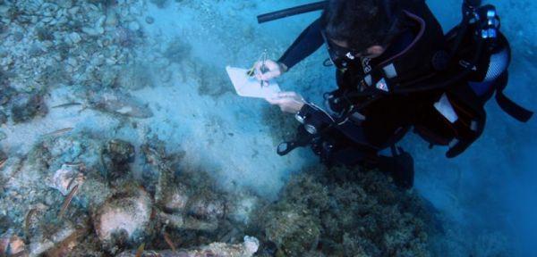 """22 shipwrecks found near fourni"""