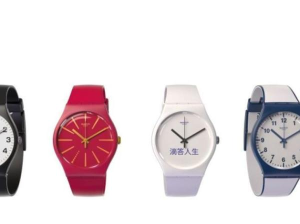 """Swatch's Bellamy pay by the wrist watch"""