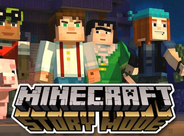"""telltale releases trailer for the first episode of minecraft: story mode"""