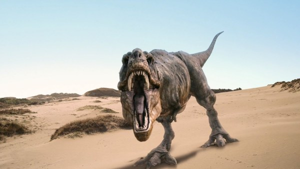 """""""t-rex jaw opening was wide"""""""