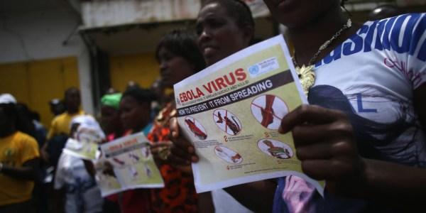 """""""Ebola affects Liberia"""""""