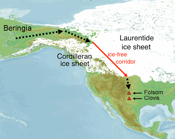 first humans travel map