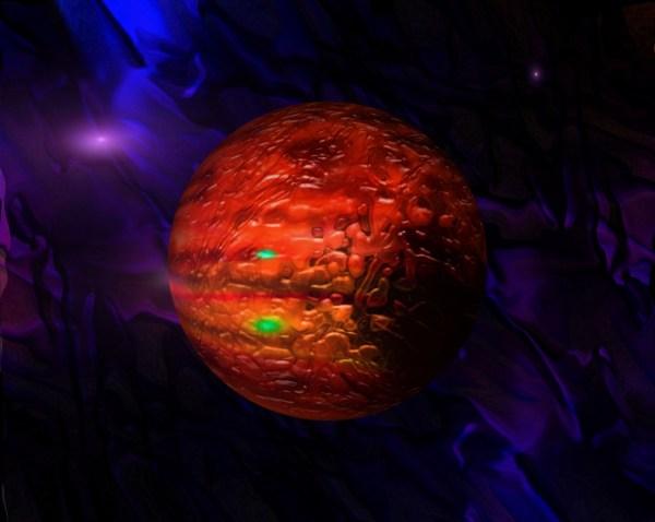 Illustration of Aldebaran star