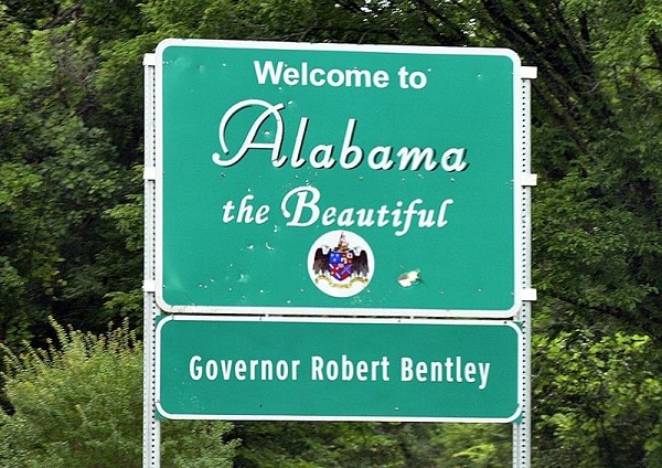 most stressed state Alabama