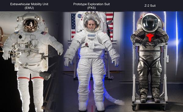 NASA spacesuits