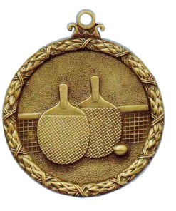 Antique table tennis medal