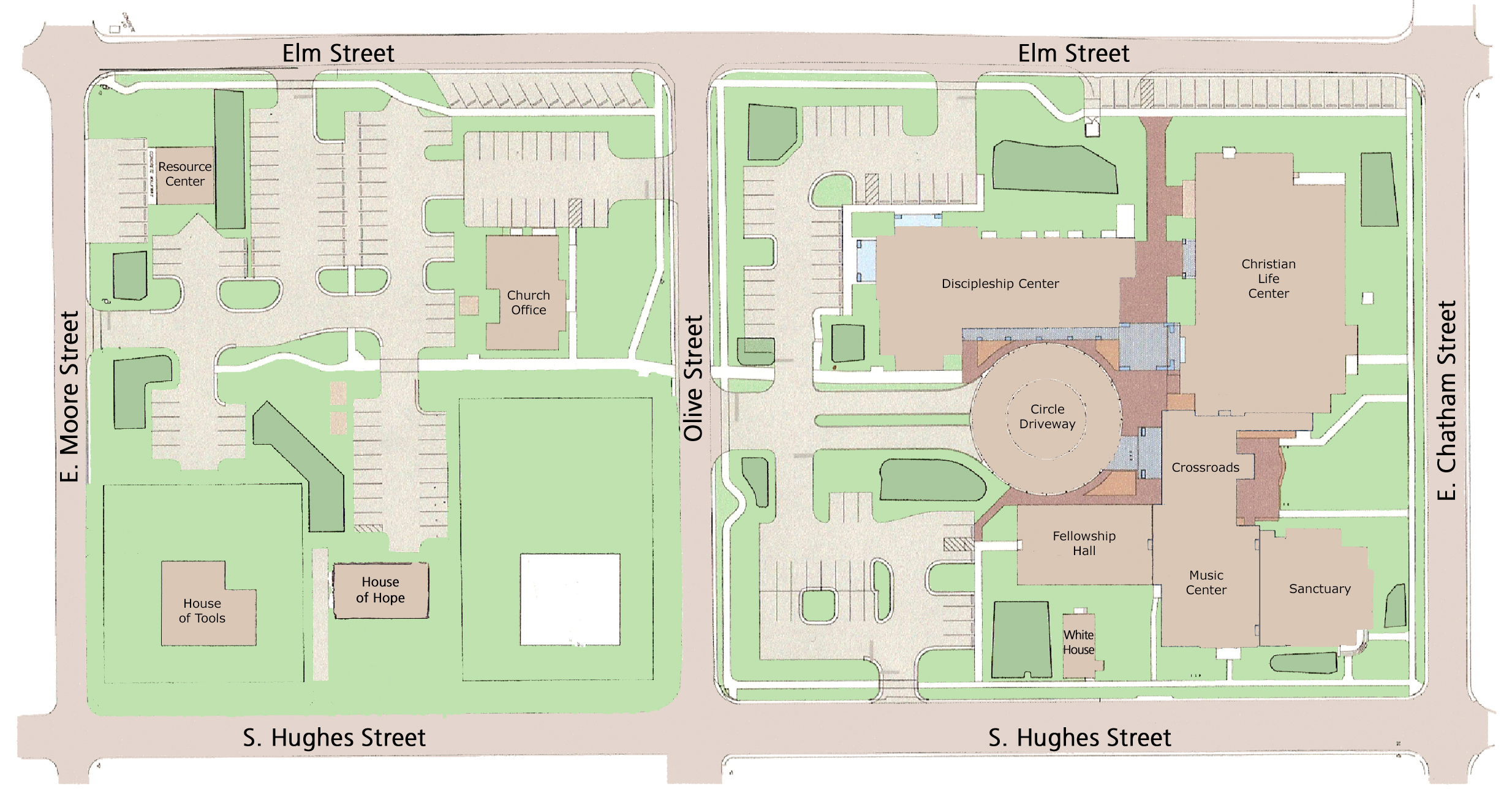 Umc Campus Map.I M New Apex Umc