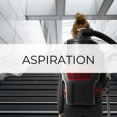 aspirateur dorsal, filaire, robot