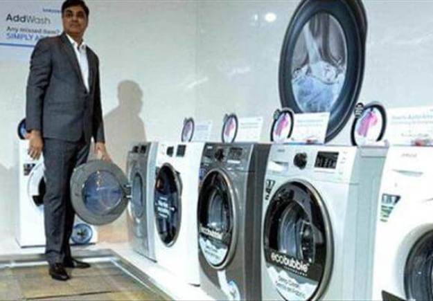 samsung unveils the next in innovation with its washing machine