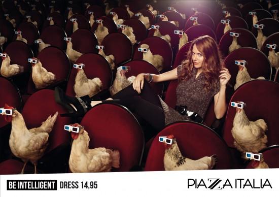 Piaza Italia Advertisement © Achim Lippoth