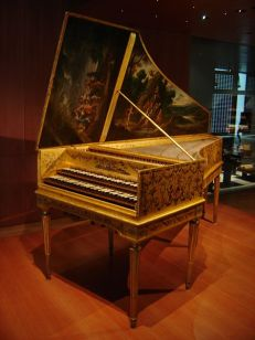 Harpsichord by Andreas Ruckers (1578-1645), remodeled by Pascal Taskin (1723-1793) (1780) Wikimedia Commons