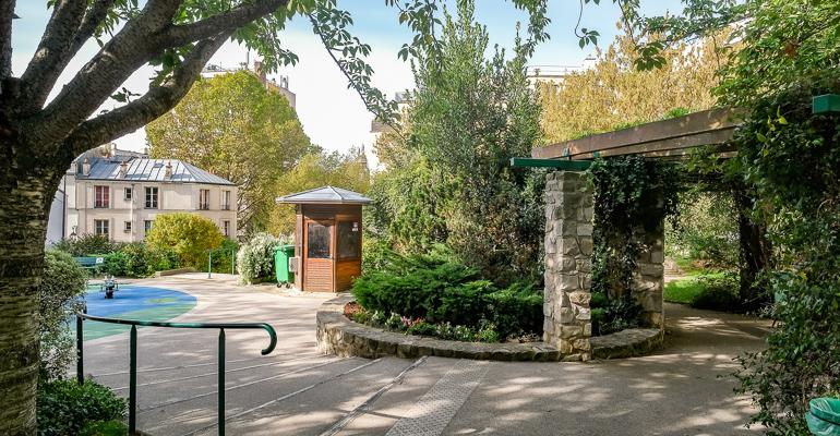 Spots to Visit in Paris, France: Square de la Montgolfière - Ville de Paris