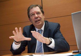 Francisco Gómez Ferreiro, durante su intervención en la cuarta jornada del curso organizado por APIE y el Banco Popular.