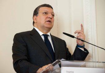 Otro momento de la intervención de Jose Manuel Durao Barroso con la que la APIE inauguró su curso de verano