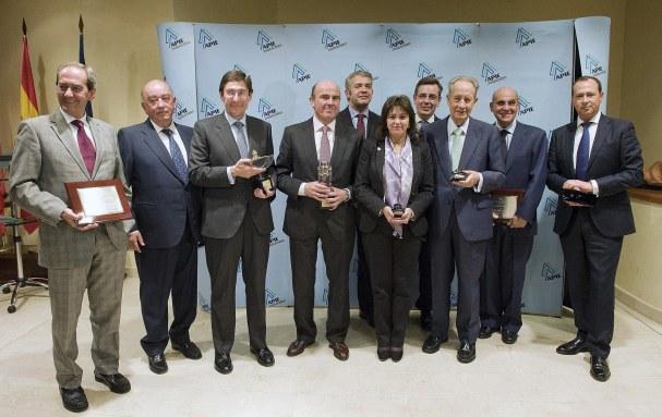 Todos los premiados en la edición de los Tintero y Secante 2013.